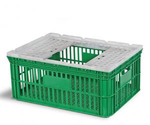 Caixa Agrícola Vazada HFG com tampa 118L