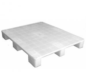 Pallet Plástico Liso Monobloco