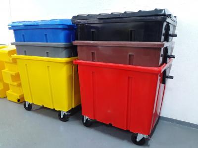 Utilização de Containers de Lixo para Coleta e Limpeza Urbana