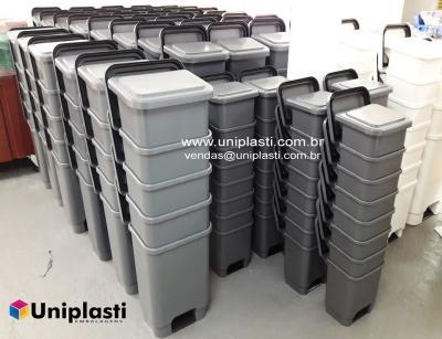 Lixeira com Pedal para Coleta de Resíduos Industria Comércio Hospital